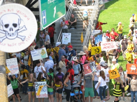 IMAGE SOURCE: Photo by Anita Stewart at March Against Monsanto October 2013 in Tampa