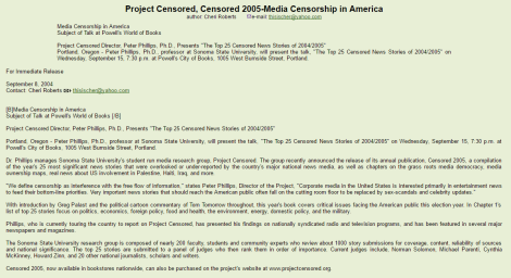 cheri roberts project censored 1