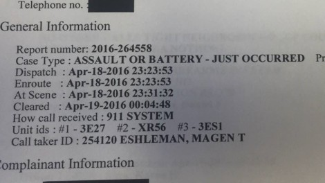 mollie dunn powell police report image