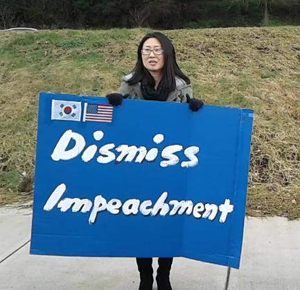 protest-south-korean-impeachment-oregon